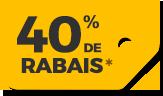 30% de rabais