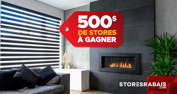 concours stores à gagner
