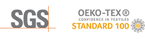 Certification tissus SGS OEKO-TEX confidence in textiles standard 100