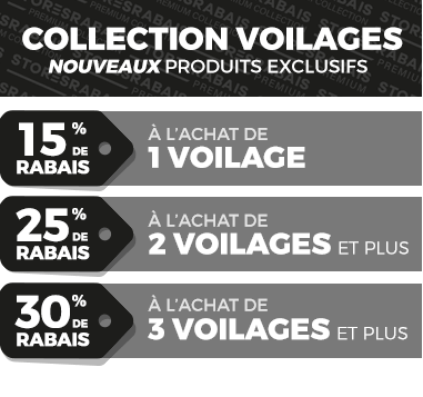 Promo collection voilages