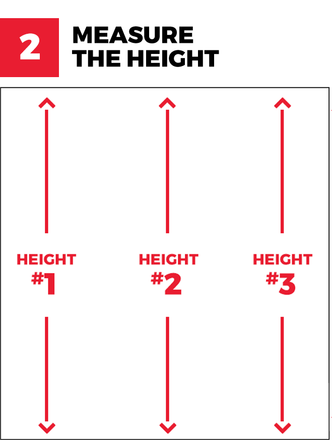 Measure the height