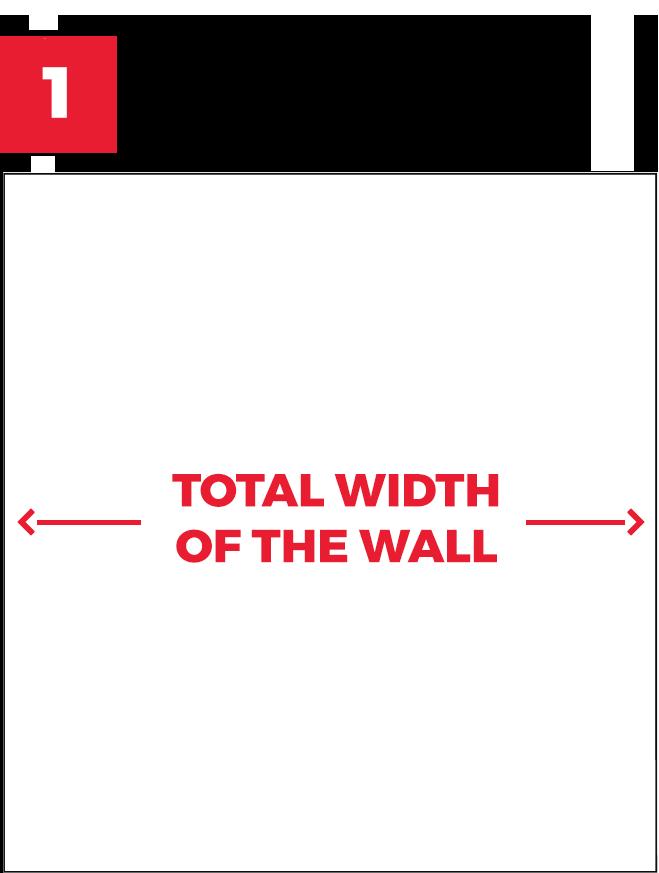 Measure the width
